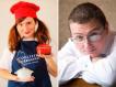 Любовь и Максим Куштуевы – автор книги «Швейцарская кухня»