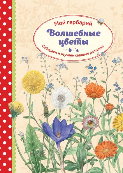 Волшебные цветы. Мой гербарий (Стефани Циск, Ларс Баус) — купить в МИФе e44a2edd6de